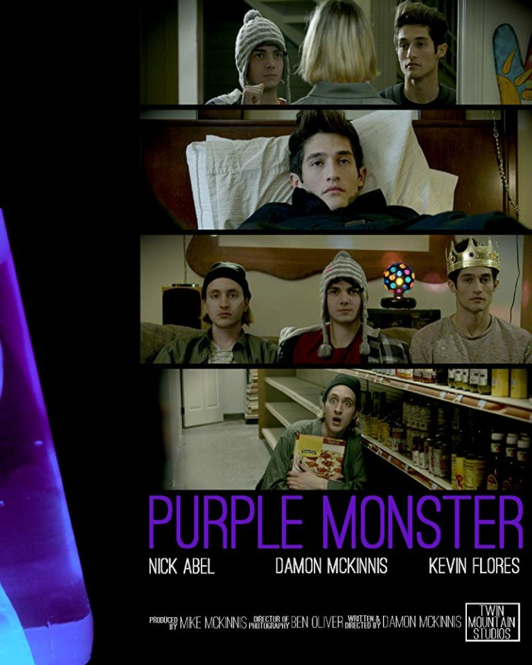 Purple Monster poster