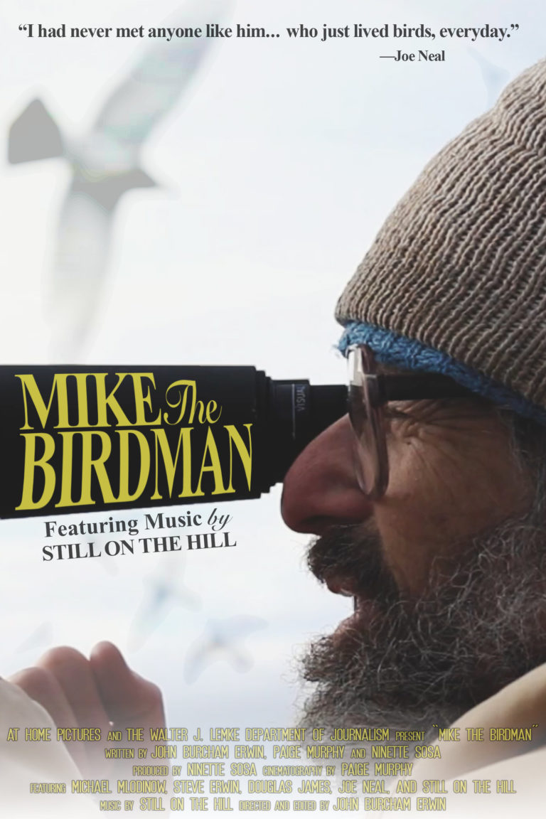 mike the birdman poster